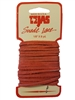 TEJAS Genuine Suede Leather Lace Cord (1/8 Inch) 8 Yard Spool