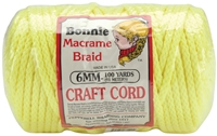 6MM Bonnie Braid Cord 100 Yards
