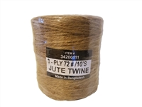 3 Ply #72 Natural Jute Twine 10 lb.