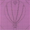 Hot Air Balloon w/ Hearts