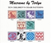 Pattern Pack - Ten Children's Chair Patterns