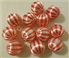 Pack of 12 Satin Christmas Ball Ornaments 1""