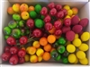 "Medium Artificial Plastic Fruit on 3"" Wire Stems (144 pcs)"