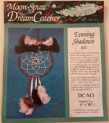 Evening Shadows Moon-Spun Dreamcatcher Craft Kit