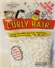 One & Only Creations 1/4 LB Value Pack Curly Doll Hair - Winter White