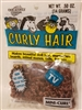 One & Only Creations Mini-Curl Curly Doll Hair - Autumn Brown