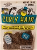 One & Only Creations Mini-Curl Curly Doll Hair - Dark Brown