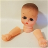 Small Baby Doll Head with Arms