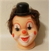 Clown Vinyl Doll Head