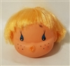 "3"" Doll Head with Teardrop Eyes & Kissing Mouth"