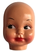 Large Black-Eyed Girl Doll Face Mask