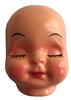 Sleeping Girl Doll Face Mask