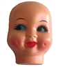 "Small 3"" Dimple Doll Face Mask"