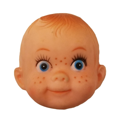 Baby Vinyl Rubber Doll Face Mask