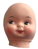 "3"" Pretty Girl Vinyl Rubber Doll Face Mask"