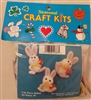 Pierre Rabbit Easter Bunny Magnets Seasonal Craft Kit