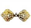 Gold Metal Filigree Wings, 4 ct Bag