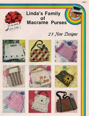 Linda's Family of Macrame Purses