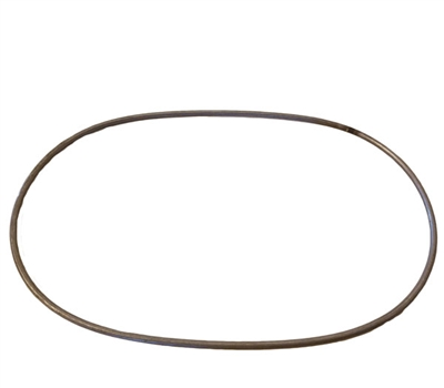 "9 x 6"" Steel Oval Ring"