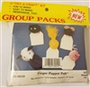 Finger Puppet Pals Kids' Pom-Pom Group Craft Kit