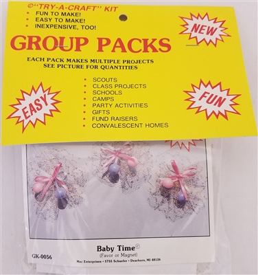 """Baby Time"" Group Craft Kit"