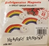 Heavenly Rainbows Refrigerator Magnets Kids' Group Craft Kit