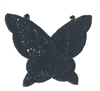 X-Large Butterfly Beaded Sequined Sew-On Applique