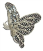 Flying Butterfly Beaded Sequined Sew-On Applique