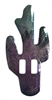 Saguaro Cactus Shaped Metal Western Concho Slide