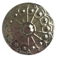 Round Studded Medallion