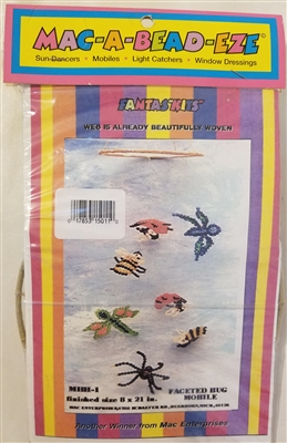 Faceted Bug Mobile Mac-A-Bead-Eze Beading Craft Kit