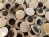 Pack of 144 pcs Loose 15mm Round Movable Wiggle Googly Eyes