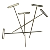 Macrame T-Pins (1-1/2 inch), Pack of 10