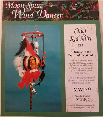 Chief Red Shirt Moon-Spun Wind Dancer Craft Kit