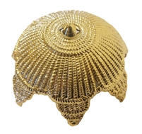 Large Gold Filigree Ornament Crown