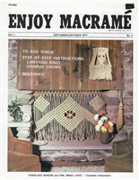 Enjoy Macrame September/October 1977