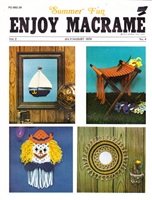 Enjoy Macrame July/August 1978