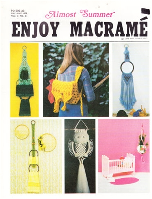 Enjoy Macrame May/June 1979