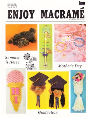 Enjoy Macrame May/June 1980