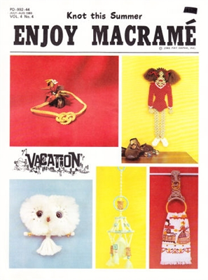 Enjoy Macrame July/August 1980