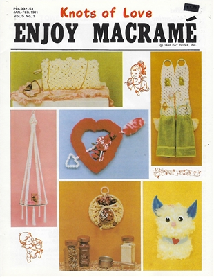 Enjoy Macrame January/February 1981