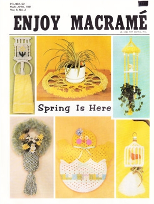 Enjoy Macrame March/April 1981