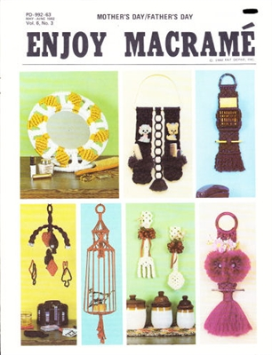 Enjoy Macrame May/June 1982