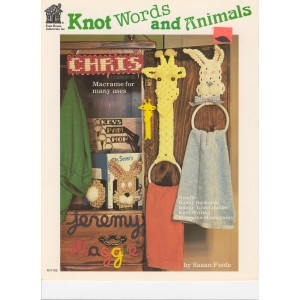 Knot Words and Animals