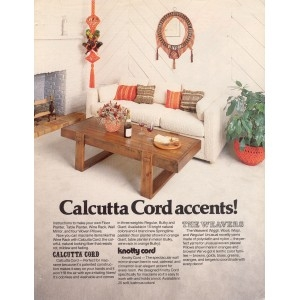 Calcutta Cord Accents