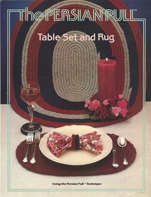 The Persian Pull Table Set and Rug