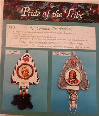 Pride of the Tribe (Big Bear & Young Whirlwind) Southwest Craft Project Kit