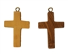 Small Wood Cross Pendant (Style 2), 12 ct Bag