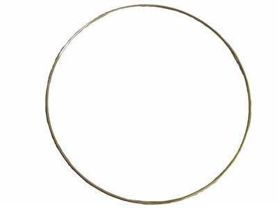 "12"" Brass Ring"
