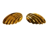 "1-1/4"" Gold Angel Wing Sequins (12 pcs)"